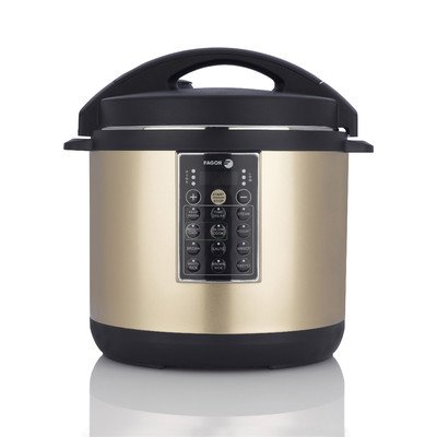 Lux Multi-Cooker Size: 8 Quart, Color: Champagne (Elite Pressure Cooker Recipe Book compare prices)