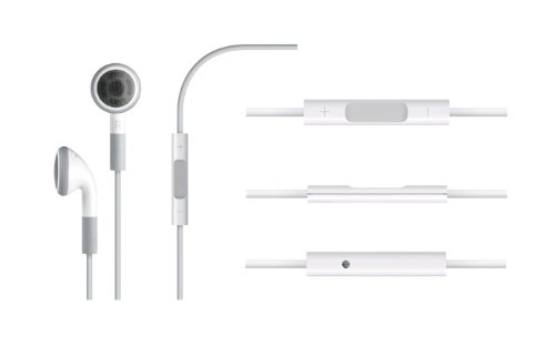 Apple Earphones with Remote and Mic (OLD VERSION)