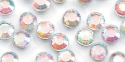 Darice 4mm Crystal Glass Stone 750/Pkg Iridescent 2704-84; 6 Items/Order
