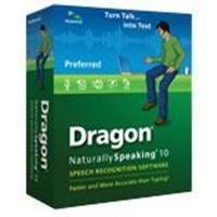 Dragon Naturallyspeaking Prefer 10.0 Brown Bag with headset for Retail [Old Version]
