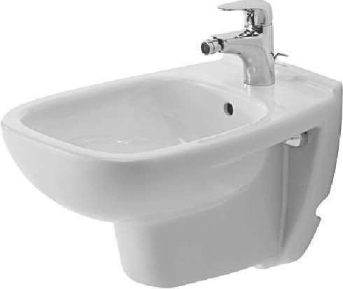 DURAVIT 2236150000 D-Code Wall Mounted Bidet, Alpine White by Duravit [並行輸入品]