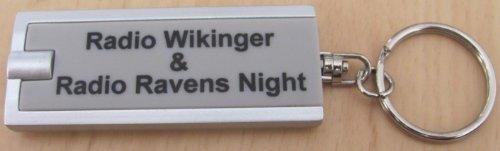 Radio Wikinger & Radio Ravens Night - Schlüsselanh. mit Licht - Neu