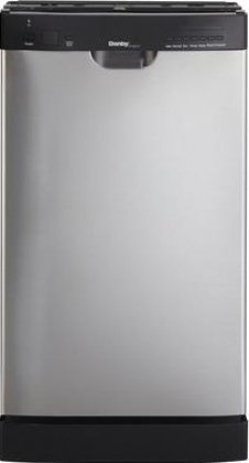 Danby DDW1899BLS 18-Inch Built-In Dishwasher - Stainless Steel