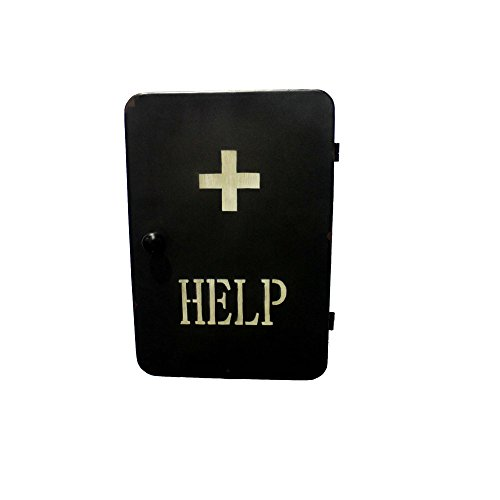 steampunk-medikamentenschrank-medizinschrank-erste-hilfe-schwarz-245-x-35-x-13-cm-mit-2-fachern-indu