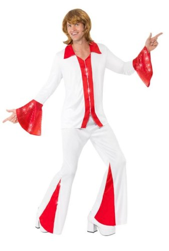 Smiffy's Super Trooper Male Costume Shirt and Trousers - Medium