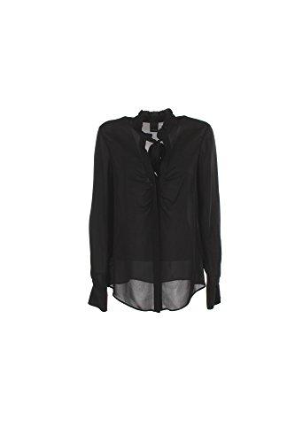 Camicia Donna Pinko 42 Nero Padrino Autunno Inverno 2016/17