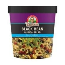 Quinoa Salad, Black Bean, Low Sodium, 2.6 Oz (Pack Of 6 )