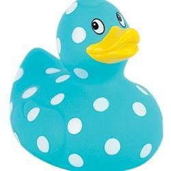 Elegant Baby Polka Dot Duck Asst, One Pack, Colors may vary - 1