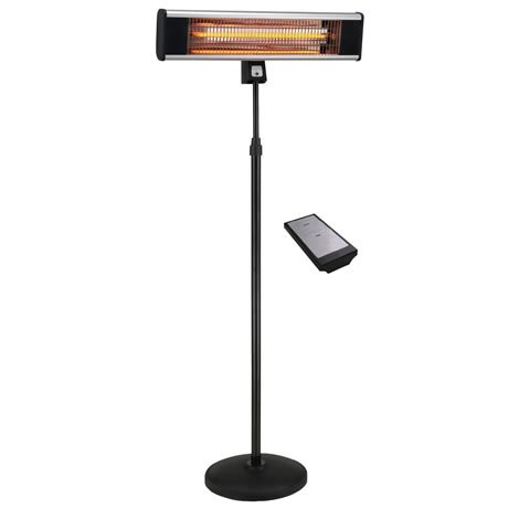 Electric Patio Heater - Free Standing - Outtrade - With Remote Control