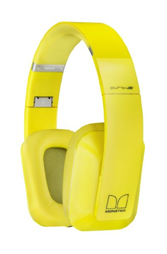 Nokia 02734M0 Bh-940 Purity Pro Wireless Stereo Headset By Monster - Retail Packaging - Yellow