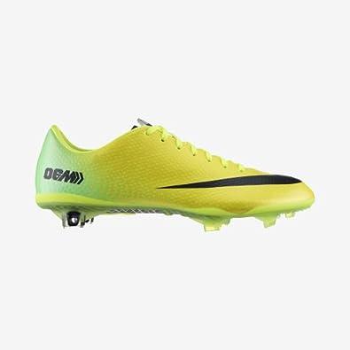 Nike MERCURIAL VAPOR IX FG Mens Soccer Vibrant Yellow Neo Lime Metallic Silver Black... by Nike