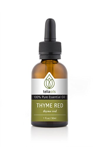 Thyme Red Essential Oil 30 Ml / 1 Oz. 100% Pure, Undiluted, Therapeutic Grade