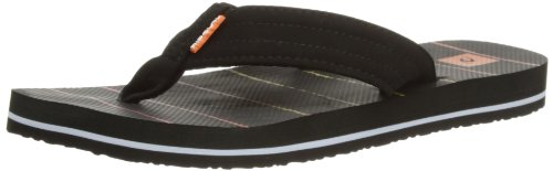 Rip Curl Ripper + Groms, Infradito bambino, Nero (nero/arancione), 11 UK Child
