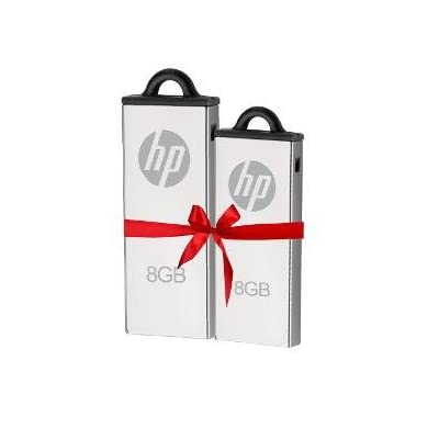 HP V220W 2pcs Combo 8GB USB 2.0 Pendrive - Only from M.P.Enterprises