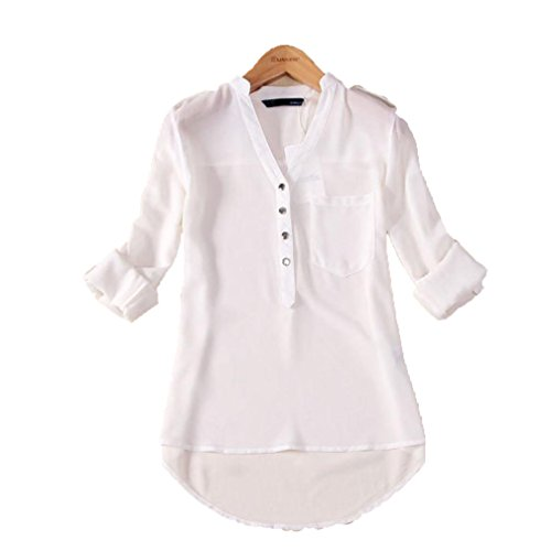 usstore-women-chiffon-long-sleeved-casual-blouse-tee-tops-shirt-tops-m-white