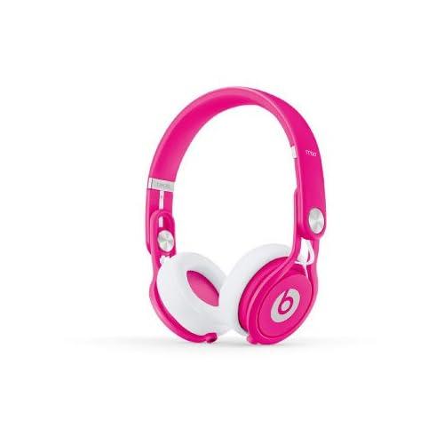 beats by dr.dre beats mixr Neon Pinkの写真01。おしゃれなヘッドホンをおすすめ-HEADMAN(ヘッドマン)-