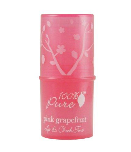 100%Pure フルーツ ピグメントリップ アンド チーク ティント 1.ピンクグレープフルーツ 7.5g
