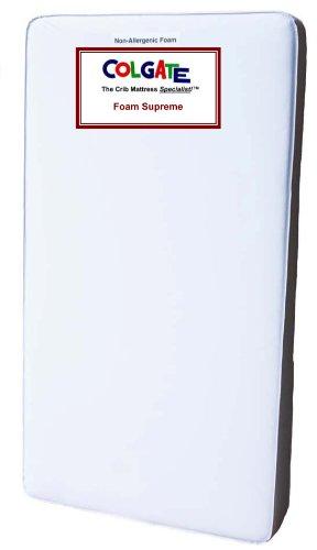 Colgate Foam Supreme Super Light Weight Crib Mattress, White front-815524