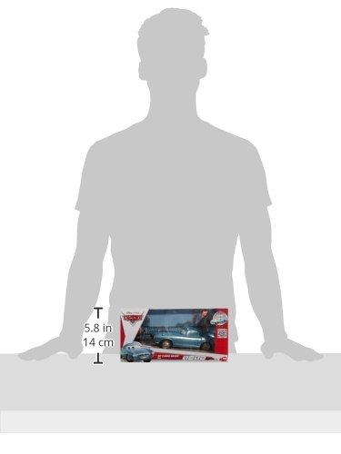 Imagen 3 de Dickie-Spielzeug 203089503 Disney Cars 2 - Coche por control remoto diseño Finn McMissile de 18 cm [Importado de Alemania]