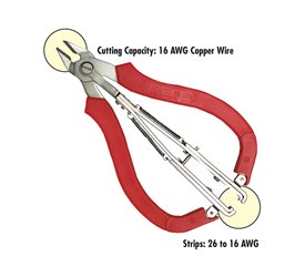 Klenk Two in One Wire Cutter and Stripper-Small - DA76070