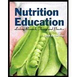 Nutrition Education - Linking Research, Theory, & Practice (07) By [Paperback (2007)]