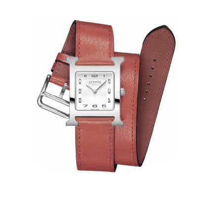 Hermes Heure H Ladies Quartz Watch - 036798WW00