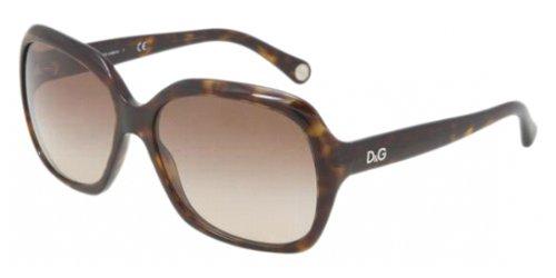D&G Dd3077 Sunglasses-502/13 Havana (Brown Gradient Lens)-58Mm
