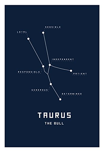 Astrology-Chart-Taurus-Poster-13-x-19in