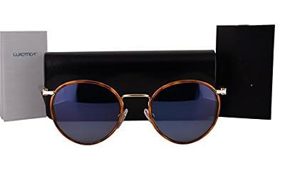 Persol PO2422SJ Sunglasses Light Gold Havana Vintage Celebration w/Light Blue Lens 106156 PO 2422SJ