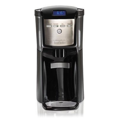 Hb Dispensing Coffeemaker Blk front-250777