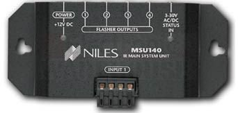 Niles Msu140 (Fg01002) Ir Repeater System For Single Zone Applications