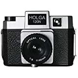 Holga 184120 120N Twi-Lite  Holgawood Collection Plastic Camera (Silver/Black)