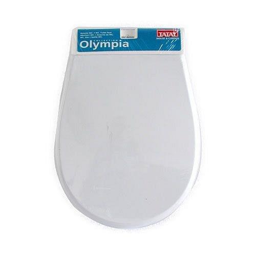 Olympia 40401 Toilettendeckel, Weiß