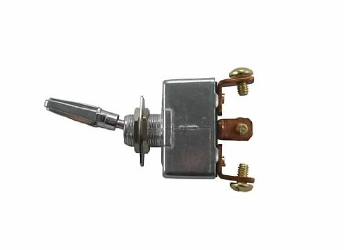 Jt&T Products (2918F) - 50 Amp @ 12 Volt - S.P.S.T. , Heavy Duty On/Off/On All Metal Toggle Switch With Three Screw Terminals