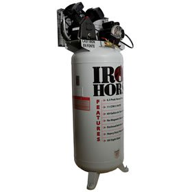 Iron Horse IHD6160V1 60-Gallon 150 PSI Max Electric Compressor (Iron Horse Compressor Parts compare prices)