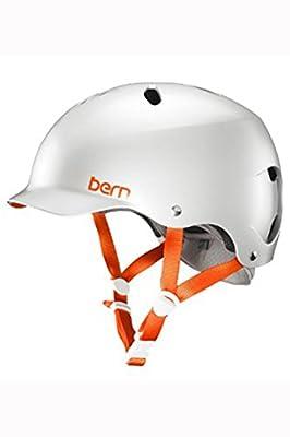 Bern Satin Delphin Grey 2015 Lenox Thin Shell-EPS Foam Womens MTB Helmet from Bern