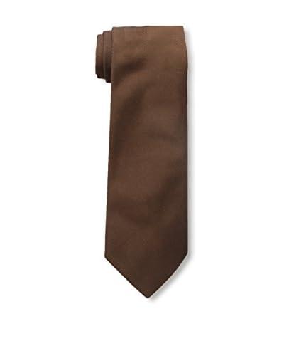 Valentino Men's Silk Tie, Brown
