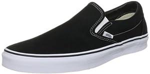 Vans Classic Slip-On Sneaker Black 4.5 M US Men / 6 M US Women