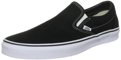Vans U CLASSIC SLIP-ON Sneaker, Unisex Adulto, Nero (Black), 34.5