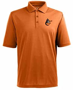 Baltimore Orioles Pique Xtra Lite Polo Shirt (Cooperstown) by Antigua