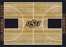 Milliken Oklahoma State Cowboys 4 x 5 Oklahoma State Cowboys Area Rug