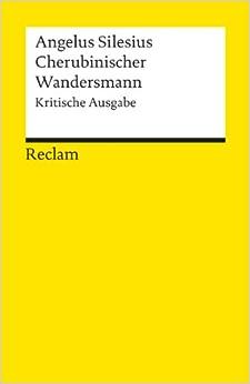 Cherubinischer Wandersmann. Kritische Ausgabe. (German) Paperback