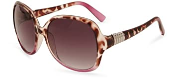M :UK - Lunette - Femme - Gris (Brown/Pink) - FR : Taille Unique (Taille fabricant : One Size)