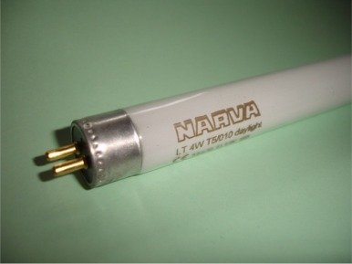 1x NARVA Leuchtstofflampe LT-T5 760 4W Leuchtstoffröhre