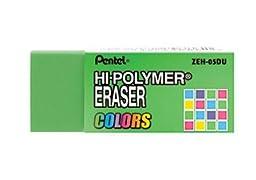 Pentel® Hi-Polymer Erasers, Multiple Colors,1 Pack Of 6