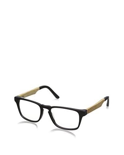 Ivory + Mason Men's Bedford Eyewear, Matt Black