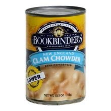 Bookbinder's New England Clam Chowder, 10.5-Ounce Cans (Pack of 12)