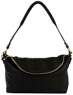 Lodis Synergy Collection Paige Shoulder Bag Black