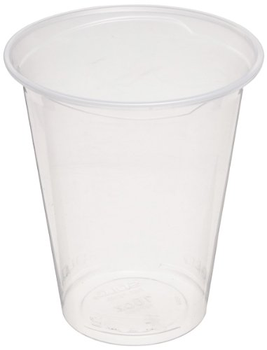 Solo PX16-0090 16 oz Clear Polypropylene Reveal Ultra Clear Cold Cup (20 Packs of 50)