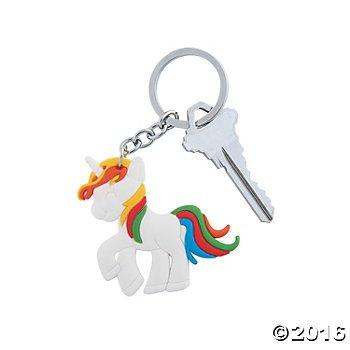 Unicorn-Keychains-12-ct